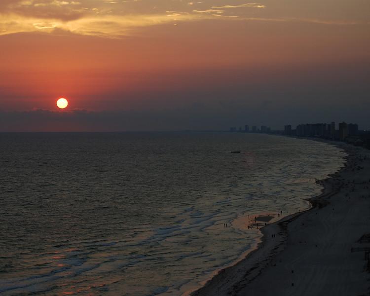 Sunset on the Gulf 3<br /> <br /> Panama City Beach, Florida.