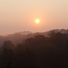 Treetop Sunrise<br /> <br /> Taken from a parkway bridge overlooking Sinking Creek.