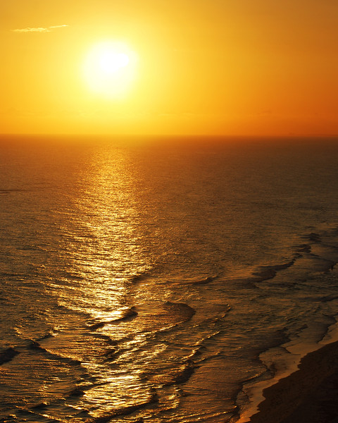 Sunset on the Gulf<br /> <br /> Panama City Beach, Florida.