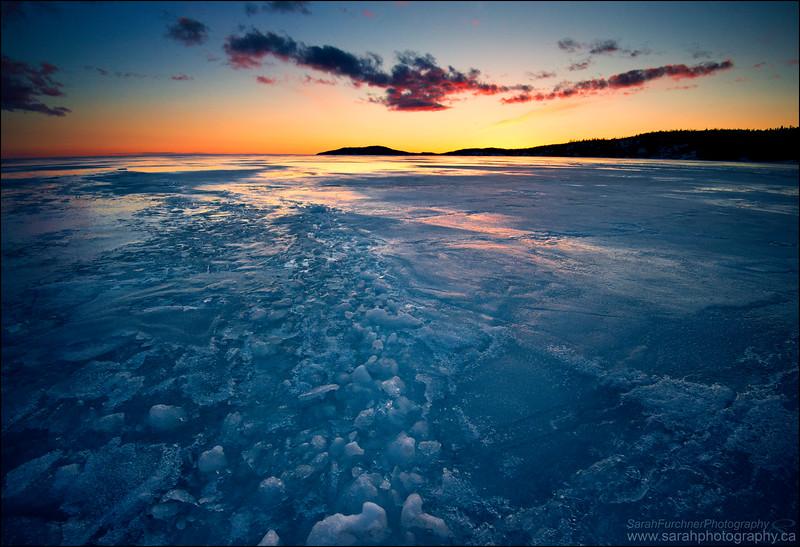 Michipicoten Bay, Lake Superior Ontario.
