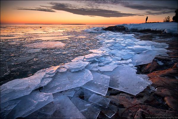 Katherine Cove, Lake Superior. Lake Superior Provincial Park, Ontario.