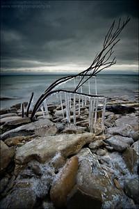 Lake Huron.  Gore Bay, Manitoulin Island Ontario.