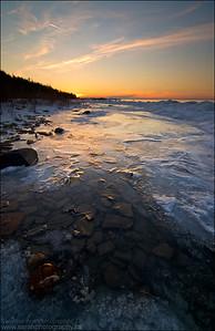 Lake Huron. Gore Bay, Manitoulin Island.