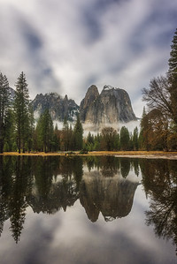 Yosemite National park Cathedral Peaks