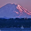 Mt. Rainier from Lake Washington