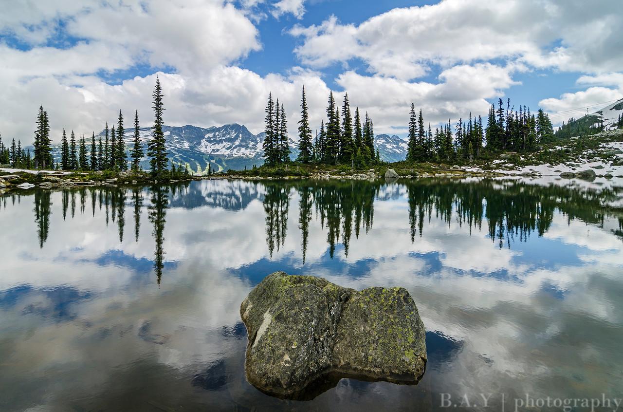 Whistler Mountain reflections, Canada
