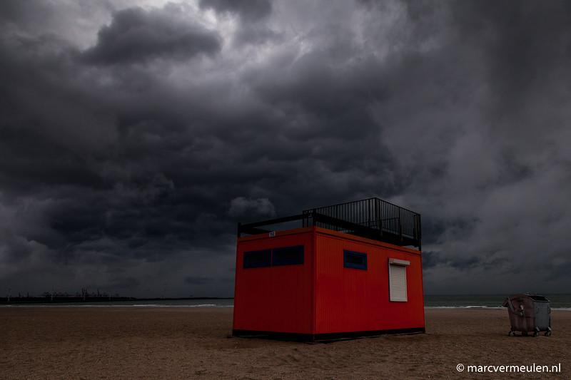 Thunder storm April 7th in Hoek van Holland