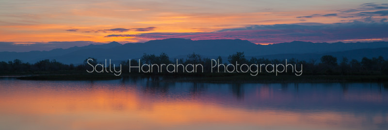 Harmon Reservoir Sunrise~Churchill County Nevada