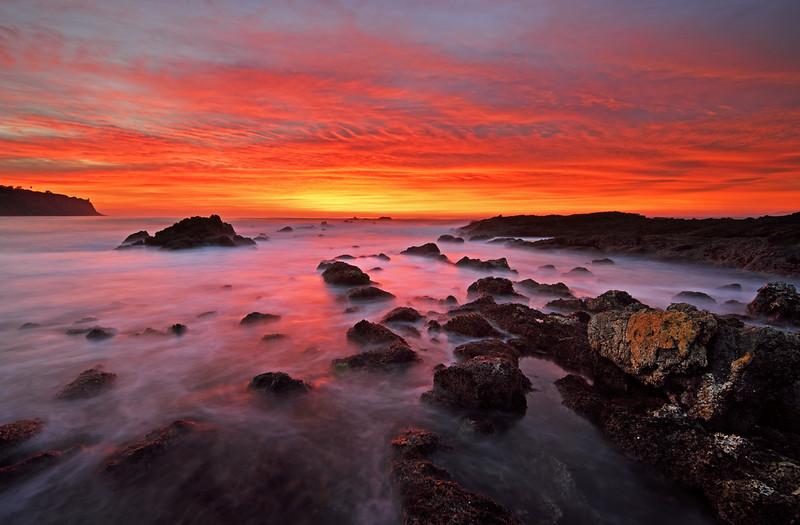 Long Exposure sunset, Palos Verdes