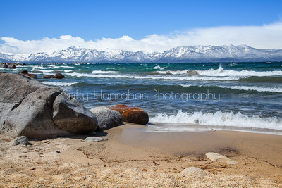 Cave Rock Beach ~ Lake Tahoe Nevada