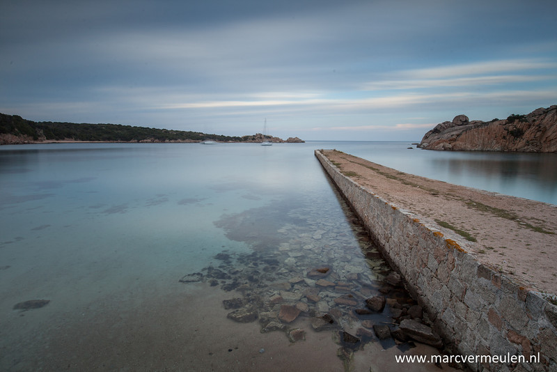 Spiaggia Spalmatore at La Maddelena, Sardegna.