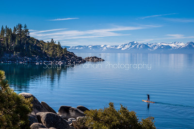 Paddleboarding Sand Harbor ~ Tahoe ~ Nevada