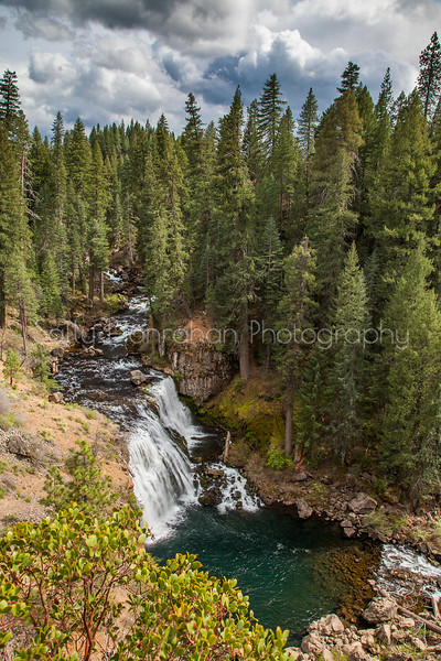 Middle McCloud Falls - Shasta Trinity National Forest