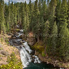 Middle McCloud Falls  ~ Shasta Trinity National Forest