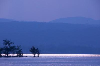 Shimmering Lake Champlain