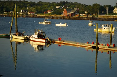 Lobster Boats @ Rest