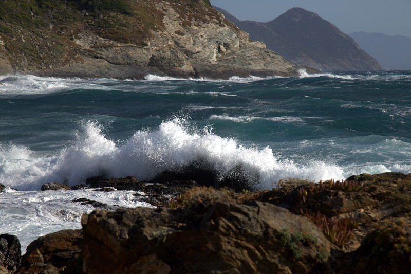 Storm in Corsica