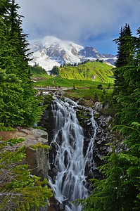Myrtle falls, Mt. Rainier National Park, Washington