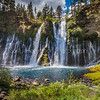 Burney Falls - Mt Shasta Trinity National Forest