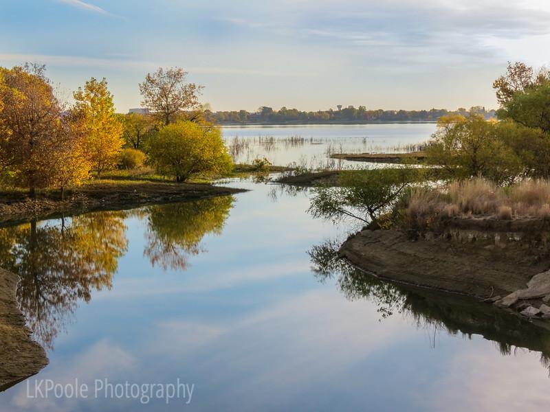 Boyd Lake in the Fall