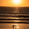 San Diego Sunset Surfer