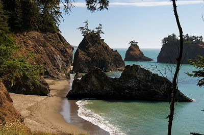 Gold Beach Sea Stacks