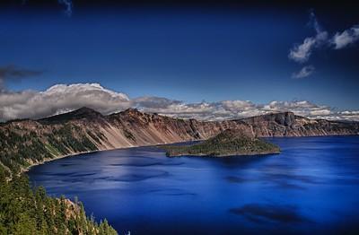 Wizard Island @ Crater Lake