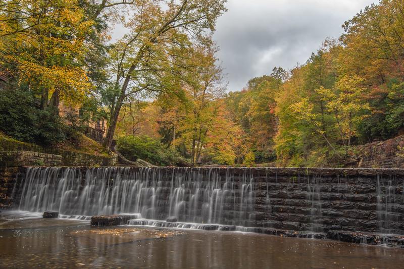 Glade Creek Grist Mill Dam