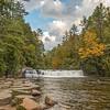 Autumn's Arrival At Hooker Falls