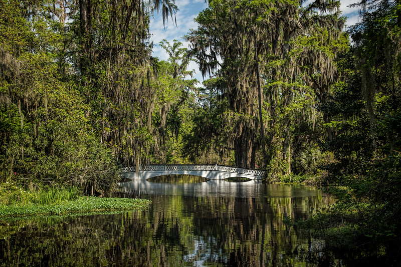 White Bridge, Magnolia Plantation Gardens