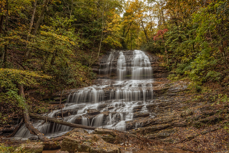 Pearson Falls Dressed In Autumn
