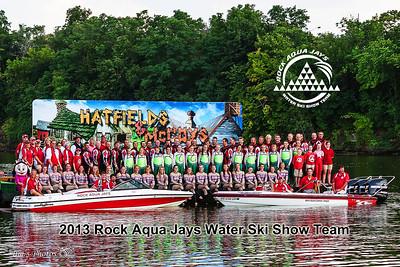 2013 Rock Aqua Jays Waterski Team