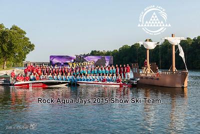 Waterski - Rock Aqua Jays - 2015 Team photo