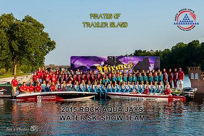 2015 Rock Aqua Jays Waterski Team