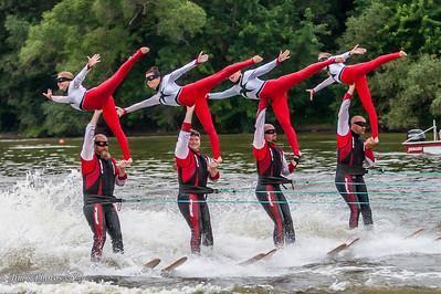 Waterski - Rock Aqua Jays [d] July 04, 2016 Home Show