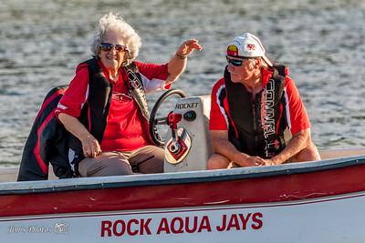 Waterski - Rock Aqua Jays [d] July 10, 2016 Home Show