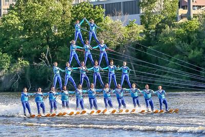 2017  Rock Aqua Jays Waterski Team