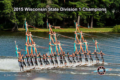 Waterski - Mad-City Ski Team [d] 2015 State Tournament
