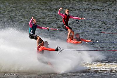 Beaverland Must-Skis Water Ski Team - 2010 Wisconsin State Tournament