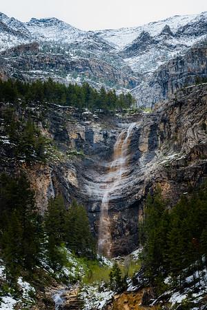 Cameron Creek Road Waterfall