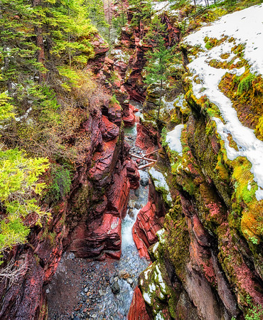 Red Rock Canyon, Canada