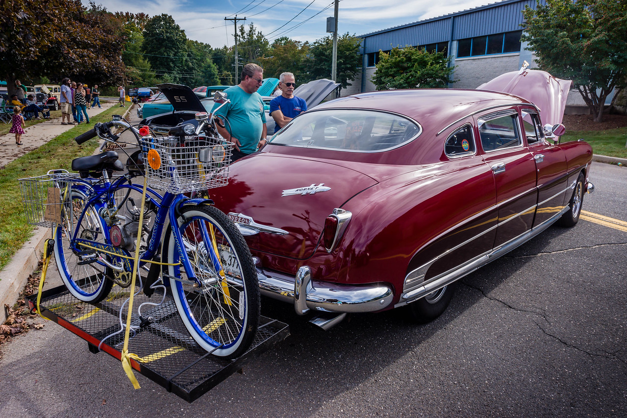 Hudson Rocket and Bike