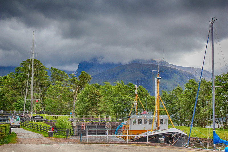 Caledonian Canal – Corpach