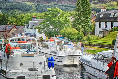 Caledonian Canal – Fort Augustus