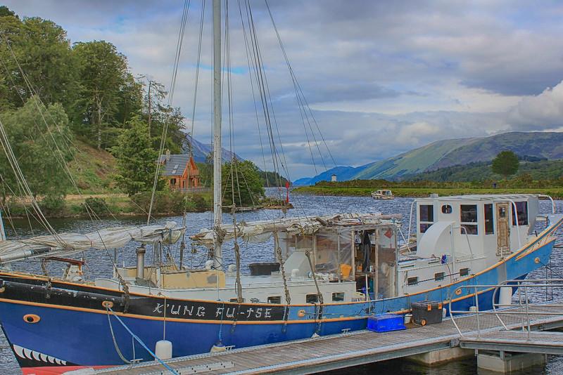 Caledonian Canal – Gairlochy