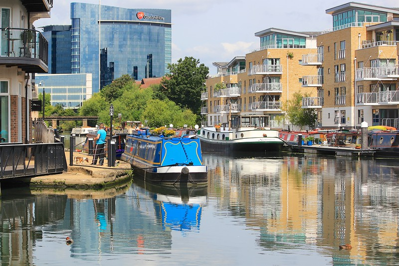 Grand Union Canal  – Brentford