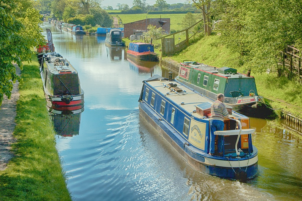 Shropshire Union Canal – Wheaton Aston