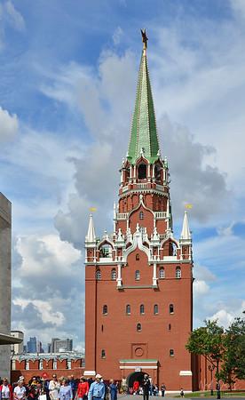 """Spasskaya Tower """"Saviour Tower"""", Moscow Kremlin"""