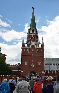 Kremlin Gate, Moscow, Russia