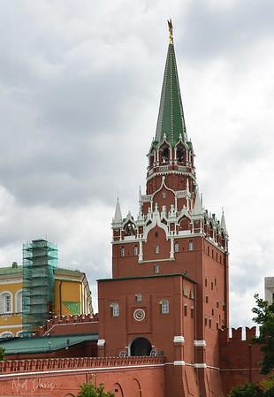 Spasskaya Tower, Moscow Kremlin, Russia
